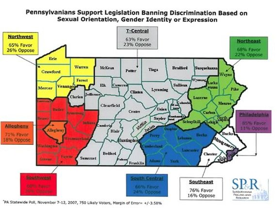 Types of sexual orientation discrimination ordinance